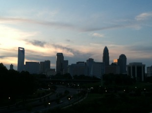 CLT skyline from the Metropolitan in Midtown Charlotte